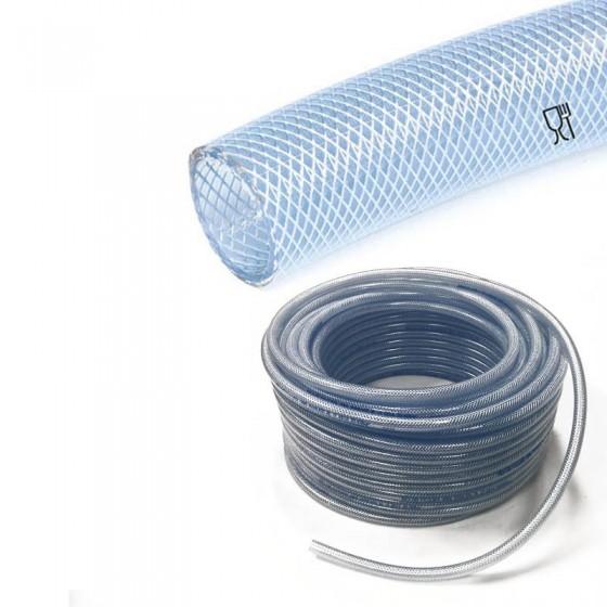PVC slang met inlage | inwendig 10mm | uitwendig 16mm