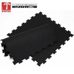 Sportvloer ProfiGym puzzel tegel Oranje Zwart | 6mm dik | 100cm x 100cm