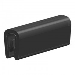 Kantprofiel | breedte 6,5mm | hoogte 9,5mm | klembereik 0,5-2mm