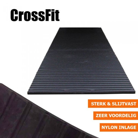 Crossfit rubbermat fitnessvloer | 10mm dik | 183m x 122cm