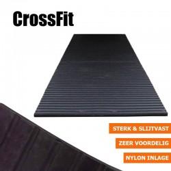 Crossfit rubbermat fitnessvloer | 17mm dik | 200m x 100cm