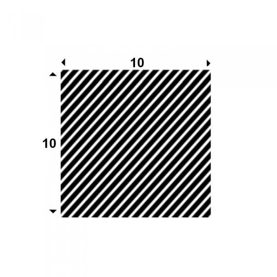 EPDM Mosrubber vierkant snoer 10mm x 10mm