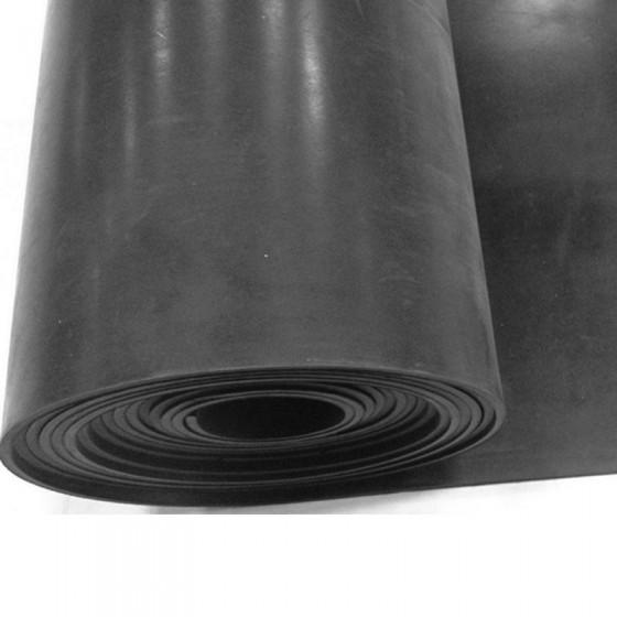 Plaatrubber SBR   4mm dik   140cm breed   Rol 10 meter