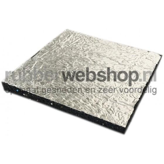 Tegeldragers aluminium backing 100mm x 100mm | 10mm dikte