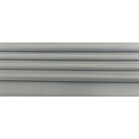 Trapneus profiel (trapprofiel)   Grijs   Lengte 4,5 meter