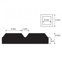Sphynx Pyramide | 3mm dik |...