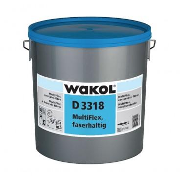 Wakol D 3318 13kg dispersielijm voor rollen en tegels