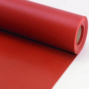 Siliconen Plaatrubber Rood|...