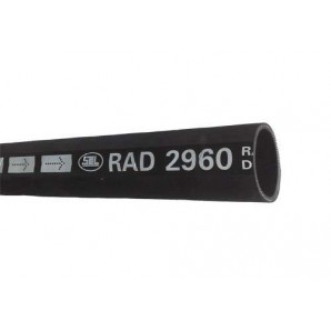 Radiateurslang Ø 38mm binnen | Ø 46mm buiten | Buigstr. 380mm | 1000mm lengte