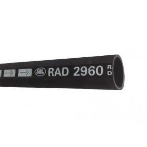 Radiateurslang Ø 40mm binnen | Ø 48mm buiten | Buigstr. 400mm | 1000mm lengte