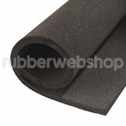 EPDM mosrubber/sponsrubber plaat | 1x1 mtr | 2mm dik
