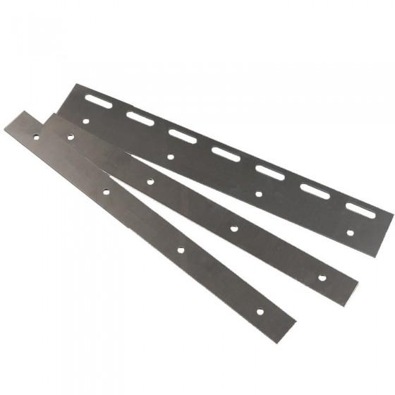Klemset ophangsysteem voor PVC platen - 20 cm breed