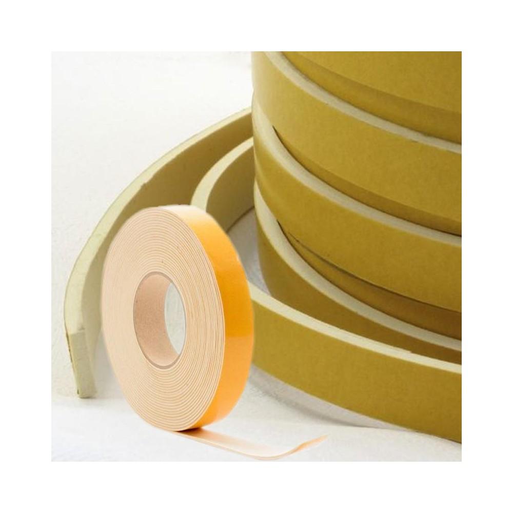 Celrubber EPDM Wit 1mm dik   9mm breed   1 zijde zelfklevend   Rol 10 meter