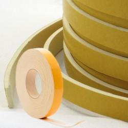 Celrubber EPDM Wit 1mm dik | 12mm breed | 1 zijde zelfklevend | Rol 10 meter
