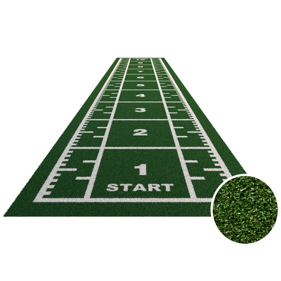 Royal sprinttrack kunstgras voor sportscholen GROEN   Verschillende breedte & lengte opties