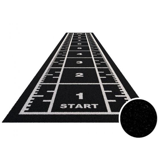 Royal sprinttrack kunstgras voor sportscholen ZWART   Verschillende breedte & lengte opties