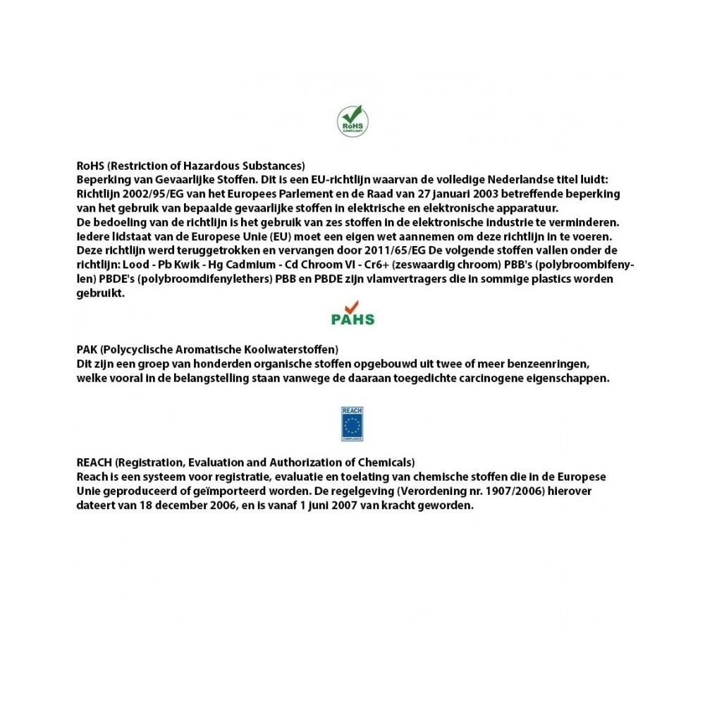 U Profiel | Ø 5,5mm inwendig | hoogte 21mm | dikte 3mm