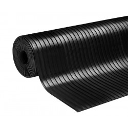 Breedrib rubber vloer | 8mm...