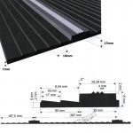 Trailermatten voor paardentrailer | 3.00 x 1.30 meter | 10mm dik
