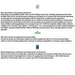 Eco Fijnribloper | 3mm dik | 120cm breed | per strekkende meter