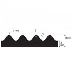 Kunststof waterslang Alfaflex | inwendig 25 mm | uitwendig 32,5 mm