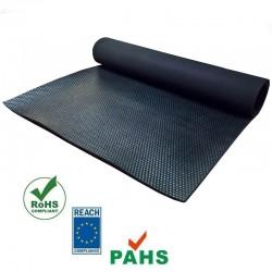 Hamerslag loper rubber vloer