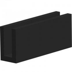 Siliconen Plaatrubber Transparant | 0.5mm dik | 120cm breed | per rol of afsnijding
