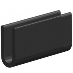 Techno 200 Neopreen Zwart | Celrubber |2,0 mm dik | 10,0 mm breed | 1 zijde zelfklevend |10 meter
