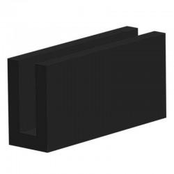 Techno 200 Neopreen Zwart | Celrubber | 2,0 mm dik | 20,0 mm breed | 1 zijde zelfklevend | 175 meter