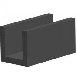 Techno 200 Neopreen Zwart | Celrubber | 2,0 mm dik | 50,0 mm breed | 1 zijde zelfklevend | 25 meter