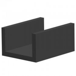 Techno 200 Neopreen Zwart | Celrubber | 3,0 mm dik | 10,0 mm breed | 1 zijde zelfklevend | 250 meter