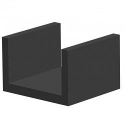 Techno 200 Neopreen Zwart | Celrubber | 3,0 mm dik | 15,0 mm breed | 1 zijde zelfklevend | 175 meter