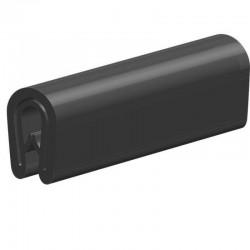 Techno 200 Neopreen Zwart | Celrubber | 3,0 mm dik | 20,0 mm breed | 1 zijde zelfklevend | 125 meter