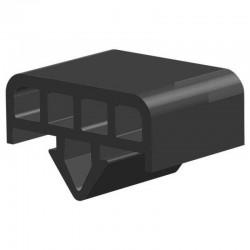 Techno 200 Neopreen Zwart | Celrubber | 3,0 mm dik | 40,0 mm breed | 1 zijde zelfklevend | 20 meter