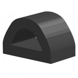 Techno 200 Neopreen Zwart | Celrubber | 3,0 mm dik | 50,0 mm breed | 1 zijde zelfklevend | 25 meter