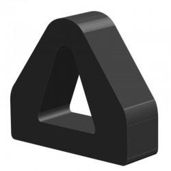 Techno 200 Neopreen Zwart | Celrubber | 3,0 mm dik | 100,0 mm breed | 1 zijde zelfklevend | 25 meter