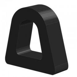 Techno 200 Neopreen Zwart | Celrubber | 4,0 mm dik | 10,0 mm breed | 1 zijde zelfklevend | 200 meter