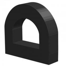 Techno 200 Neopreen Zwart | Celrubber | 4,0 mm dik | 20,0 mm breed | 1 zijde zelfklevend | 100 meter