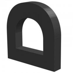 Techno 200 Neopreen Zwart | Celrubber | 4,0 mm dik | 25,0 mm breed | 1 zijde zelfklevend | 75 meter